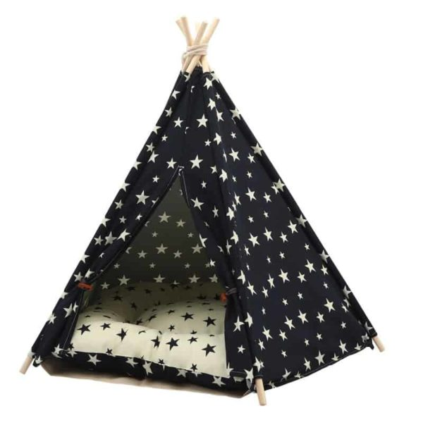 BED TENT TEEPEE STARS HRES
