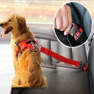 Dog Collars Leads Vehicle Car Dog Seat Belt Pet Dogs Car Seatbelt Harness Lead Clip Safety