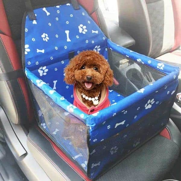 Pet Dog Car Seat Front Seat Basket for Dog Cat Portable 2 in 1 Dog Seat