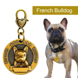 Dog ID Tag Engraved Personalized Metal Pet Dog Tags Custom Puppy Cat ID Name Tags Collar 4